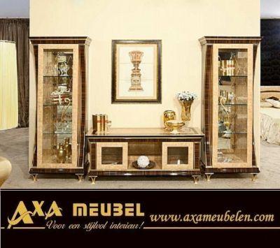 Klassische italienische hochglanz wohnzimmer axa m beln - Klassische wohnzimmer ...