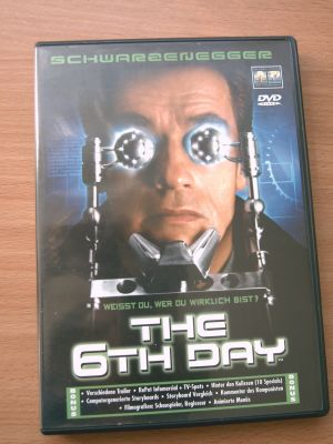 THE 6 TH DAY mit SCHWARZENEGGER