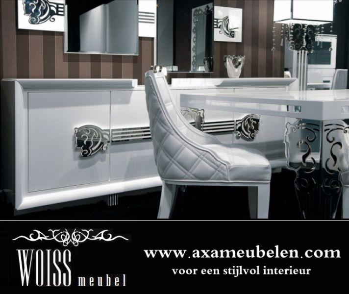 Wohnzimmermöbel Angebote: Weiss Hochglanz Wohnzimmer Komplettset WOISS Möbel Angebote