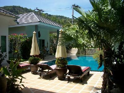 Kho Phangan - Thailand - Pan Noi Beach - Bungalow 150qm - Pool -