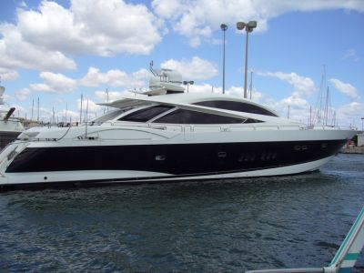 Exclusive yacht! Sunseeker Predator 108