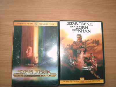 10 DVD - COLLECTION STAR TREK