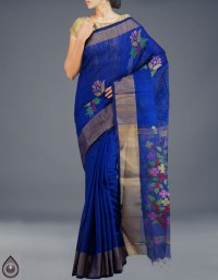 Online shopping for bengal jamdhani cotton silk sarees by unnatisilks