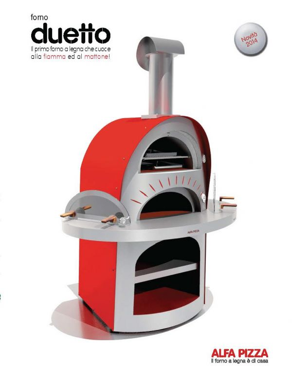 ALFA Pizza Holzbackofen, 100% made in Italy