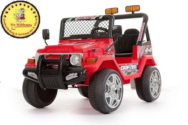 kinder elektroauto jeep 12v mit fernbedienung ovp licht. Black Bedroom Furniture Sets. Home Design Ideas