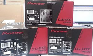 Platinum Edition CDJ-2000 Nexus Multiplayer, DJM-900 Nexus Mischer und RMX-1000 Remix-Station